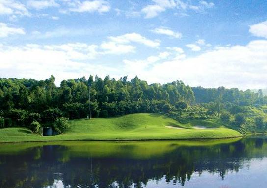 广东深圳九龙山高尔夫球场