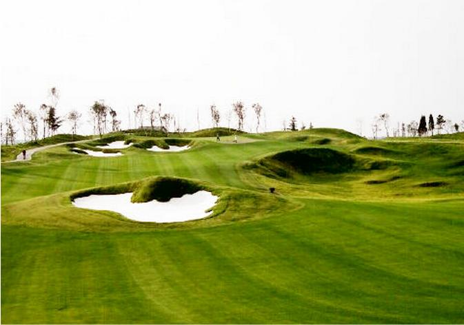 江苏苏州太阳岛高尔夫球场
