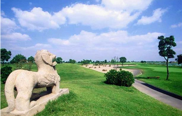 四川都江堰青城山高尔夫球场