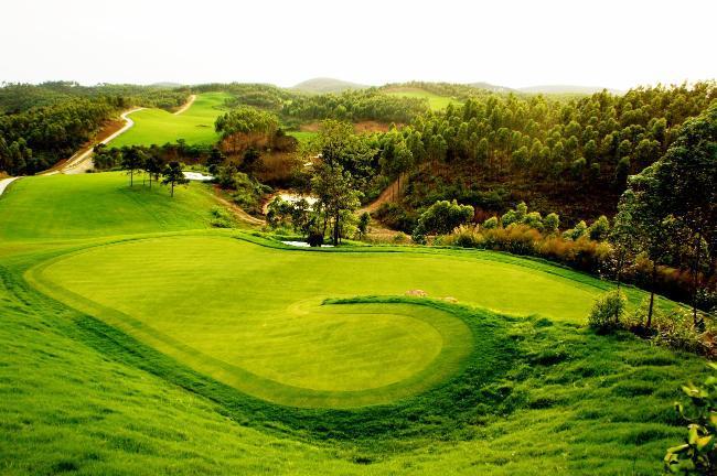 广西防城港江山半岛国际高尔夫球场