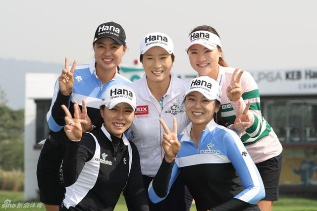 LPGA韩亚银行锦标赛赛前秀